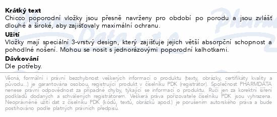 CHICCO Vložky porodnické/po porodu 30ks