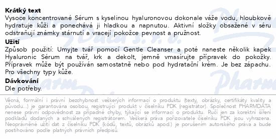 Biotter sérum s kyselinou hyaluronovou 30ml