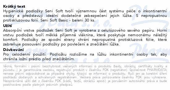 Seni Soft BASIC 90 x 60 cm 30 ks podl. absorp.
