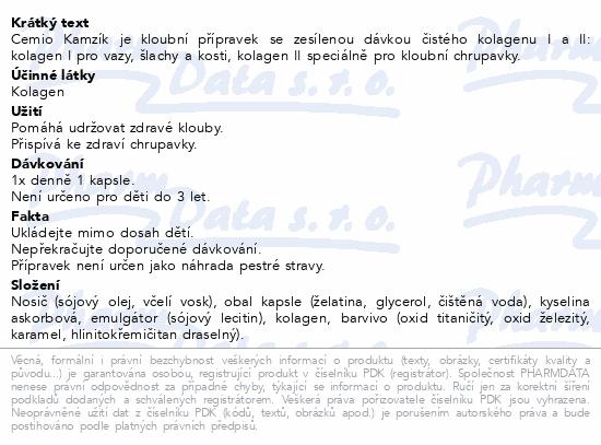 Cemio Kamzík cps.120 dárek 2020 ČR