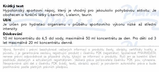 NUTREND Unisport citrón 1000ml