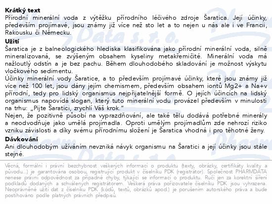 Šaratica 0.5l
