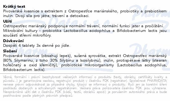 Pangamin Ostropestřec tbl.200