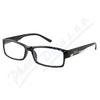 Brýle čtecí +2.50 FLEX černé s kov.doplňkem