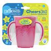 DR.BROWNS Hrnek Cheers360 6m+ 200ml růžový