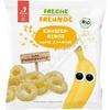 Freche Freunde BIO Křupavé kroužky Proso banán 20g