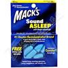 Macks Sound Asleep špunty do uší 12 párů
