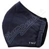 Rouška textilní 3-vrstvá modrá navy vel.M 1ks