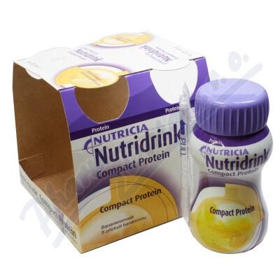 Nutridrink Compact Protein Banán por.sol.4x125ml