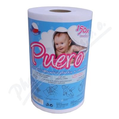 PUERO dětské separační plenky a ubrousky 150ks
