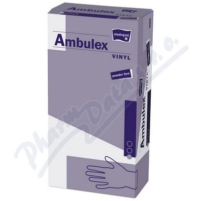 Ambulex Vinyl rukavice vinyl.nepudrované M 100ks