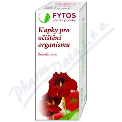 FYTOS Kapky pro očištění organismu 50 ml