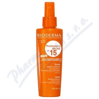 BIODERMA Photoderm Bronz SPF 15 200ml