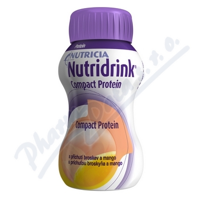 Nutridrink Compact Protein Brosk.mango 4x125ml NOV
