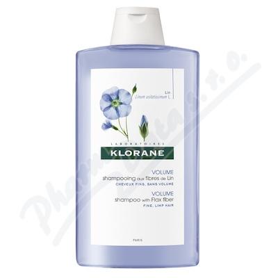 KLORANE Lin shamp 400ml-šampon pro jemné vlasy