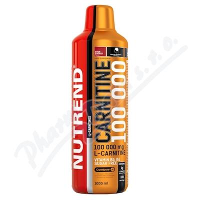NUTREND Carnitine 100 000 višeň 1000ml