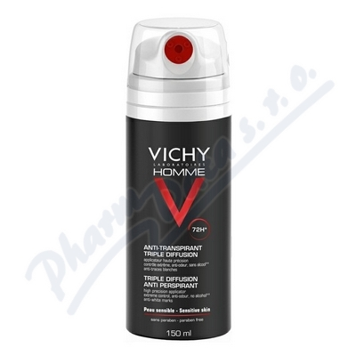 VICHY HOMME Deo spray 72H 150ml