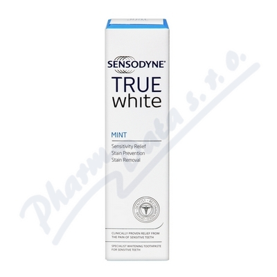 Sensodyne True White Mint zubní pasta 75ml