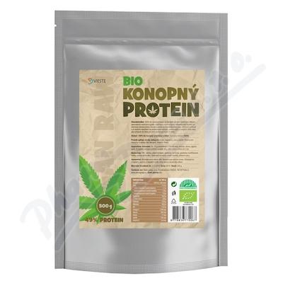 Vieste Konopný protein BIO 100% naturální 500g