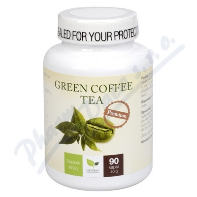 Natural Medicaments Green Coffee Tea cps.90