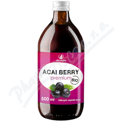 Allnature Acai Berry Pyre BIO 500 ml
