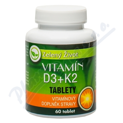AROMATICA Vitamín D3+K2 tbl.60
