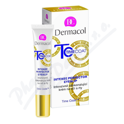Dermacol Time Coat krém na oči a rty 15ml