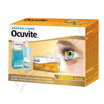 Ocuvite Lutein forte tbl.60+Hyal Drop multi 10ml