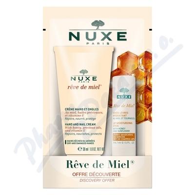 NUXE Hydratační tyčinka na rty + Krém na ruce 30ml
