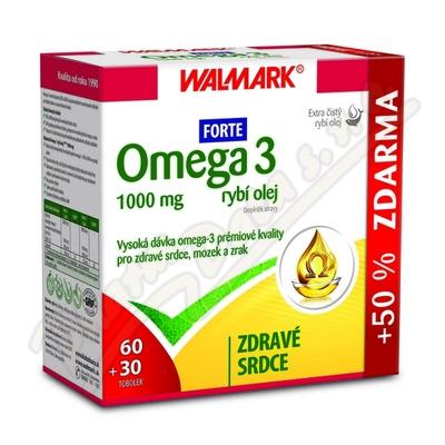 Walmark Omega 3 Forte tob.60+30