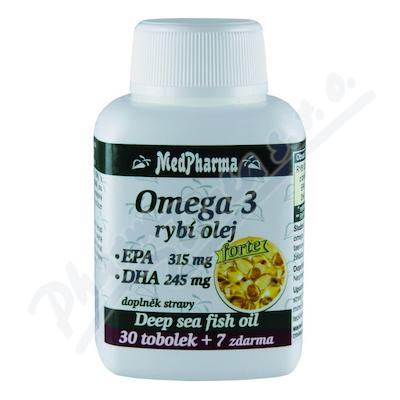 MedPharma Omega 3 rybí olej Forte tob.37