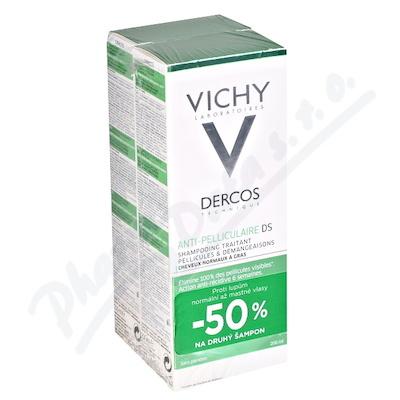 VICHY Dercos šampon lupy mast. 2016 2x200ml