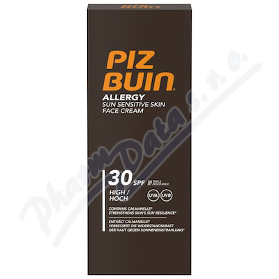 Piz Buin SPF30 Allergy Face Care 50ml
