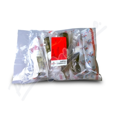 Lékovka IONISTER 10ml hnědá s pipetou 5x1ks Fagron
