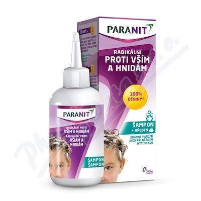 Paranit Radikální šampon + hřeben