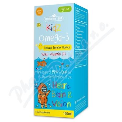 Omega 3 sirup s přír.citr.aroma pro děti 6+ 150ml