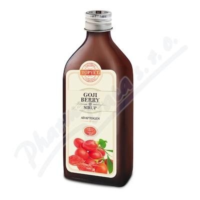 TOPVET Sirup goji berry - kustovnice 320g sklo