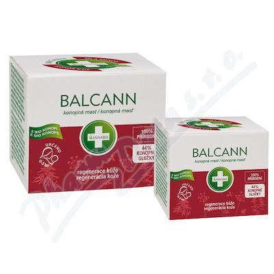 Balcann přírodní konopná mast 15ml