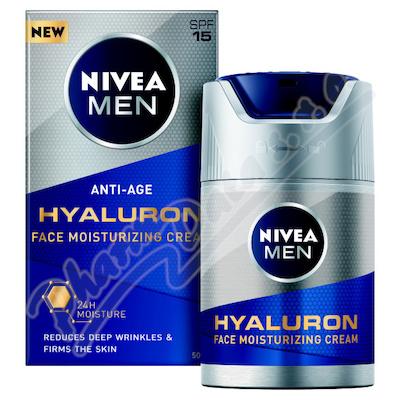 NIVEA FOR MEN Q10 Energizující krém gel 50ml 88882