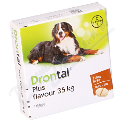 Drontal Plus Flavour 35 kg a.u.v.tbl.2