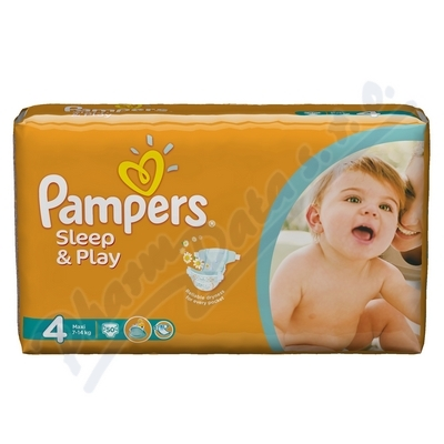 PAMPERS Sleep&Play 4 Maxi 50ks