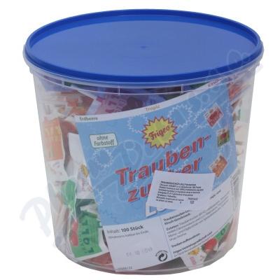 Traubenzucker Lolly lízátka z hrozn.cukru 100ks