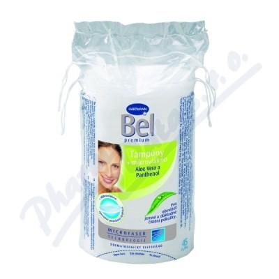 Kosmetic.tampóny odlič.BEL Premium oválné 45ks