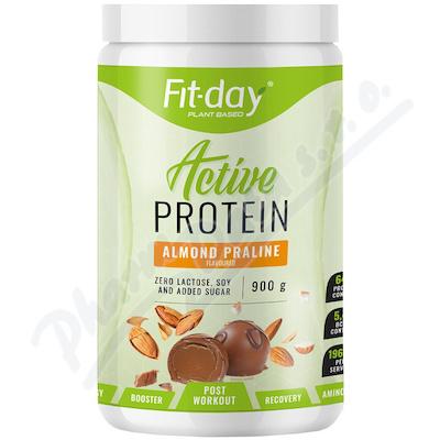 Fit-day protein active mandlová pralinka 900g