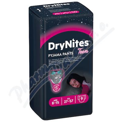 HUGGIES DryNites kalh.abs.L 8-15/girls/27-57kg/9ks
