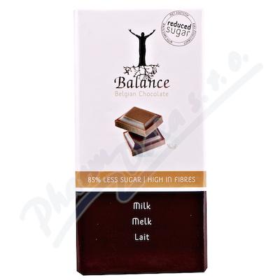 Balance Mléčná čokoláda bez cukru 100g