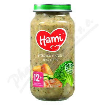 Hami příkrm brokolice s krůtou a cuketou 250g 12M