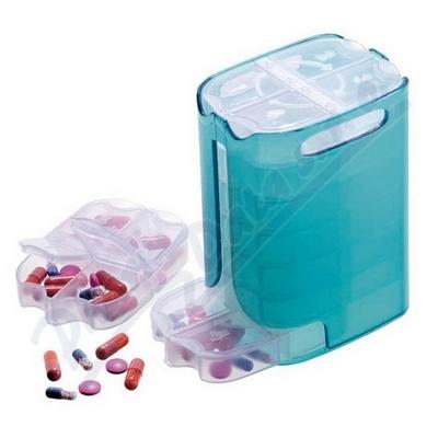 Dávkovač léků týdenní dělený