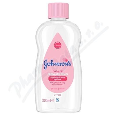 JOHNSONS Baby olej 200 ml