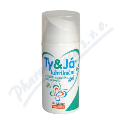 Lubrikač.gel Ty&Já Tea Tree Oil 100ml Dr.Müller